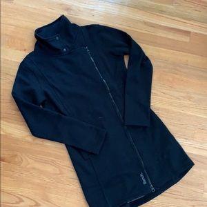 Peachy Bench Tally Funnel Neck Long Jacket Black M Nwt Ibusinesslaw Wood Chair Design Ideas Ibusinesslaworg
